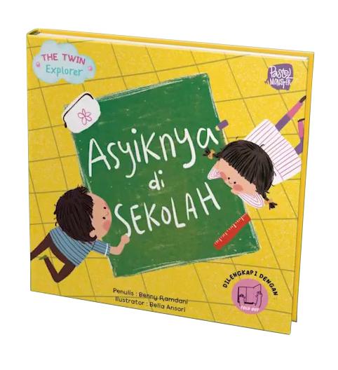 BBW: THE TWIN EXPLORER.ASYIKNYA DI SEKOLAH (BOARDBOOK-AR)