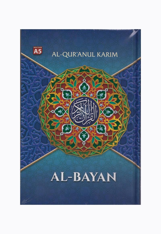 AL-QURAN A5 HVS BIRU NEW