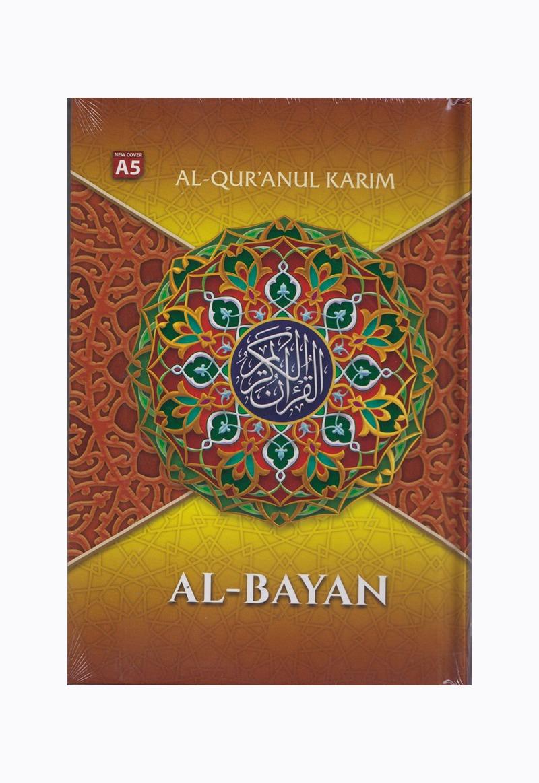 AL-QURAN A5 HVS ORANGE NEW