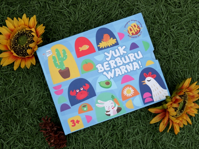 AR FLASHLIDE: YUK, BERBURU WARNA!