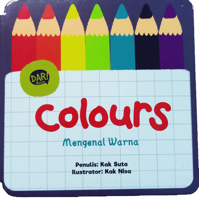 BBW : COLOURS - MENGENAL WARNA  (BOARDBOOK)