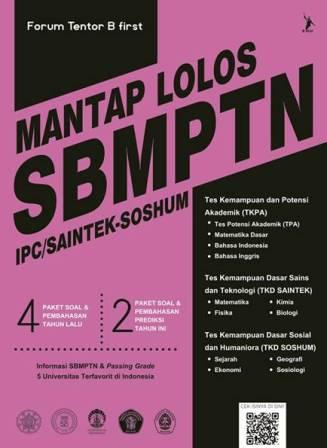 MANTAP LOLOS SBMPTN IPC/SAINTEK-SOSHUM