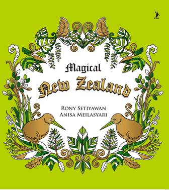 MAGICAL NEW ZEALAND: ADULT COLORING BOOK