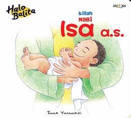 HALO BALITA: KISAH NABI ISA  A.S. (BOARDBOOK)