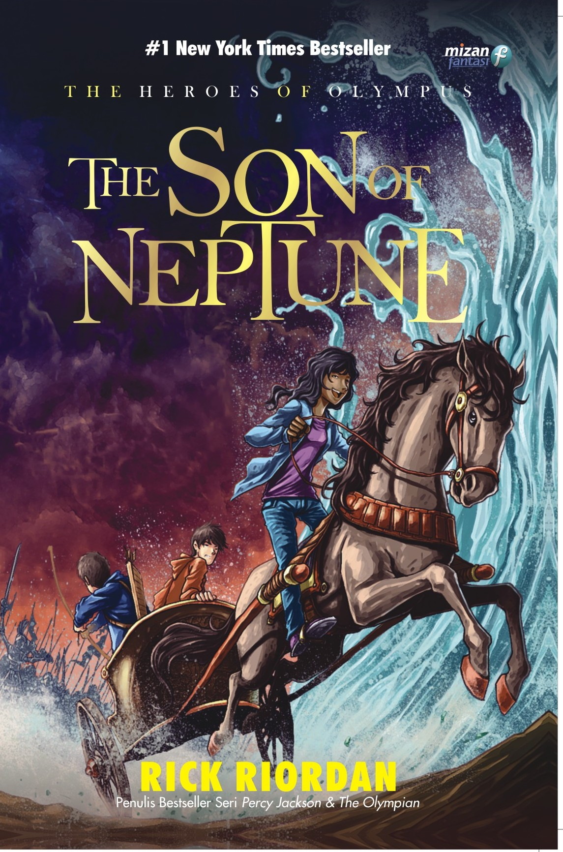 THE SON OF NEPTUNE-THE HEROES #2