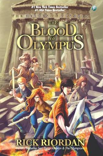 THE BLOOD OF OLYMPUS-THE HEROES #5