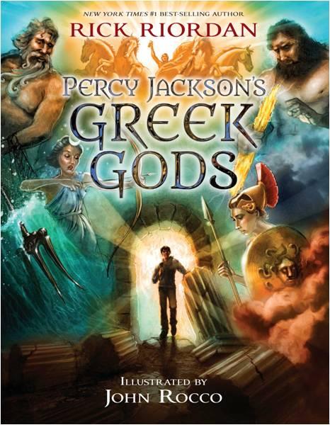 PERCY JACKSONS GREEK GODS