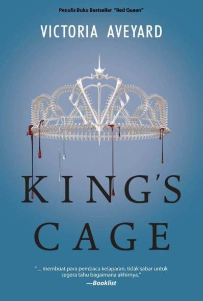 RED QUEEN TRILOGY #3: KINGS CAGE