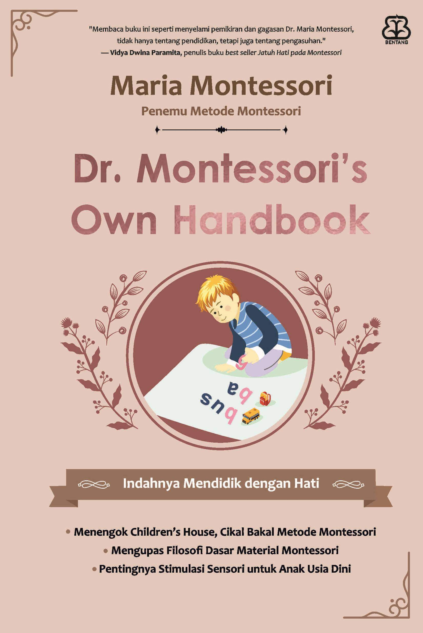 DR. MONTESSORIS OWN HANDBOOK