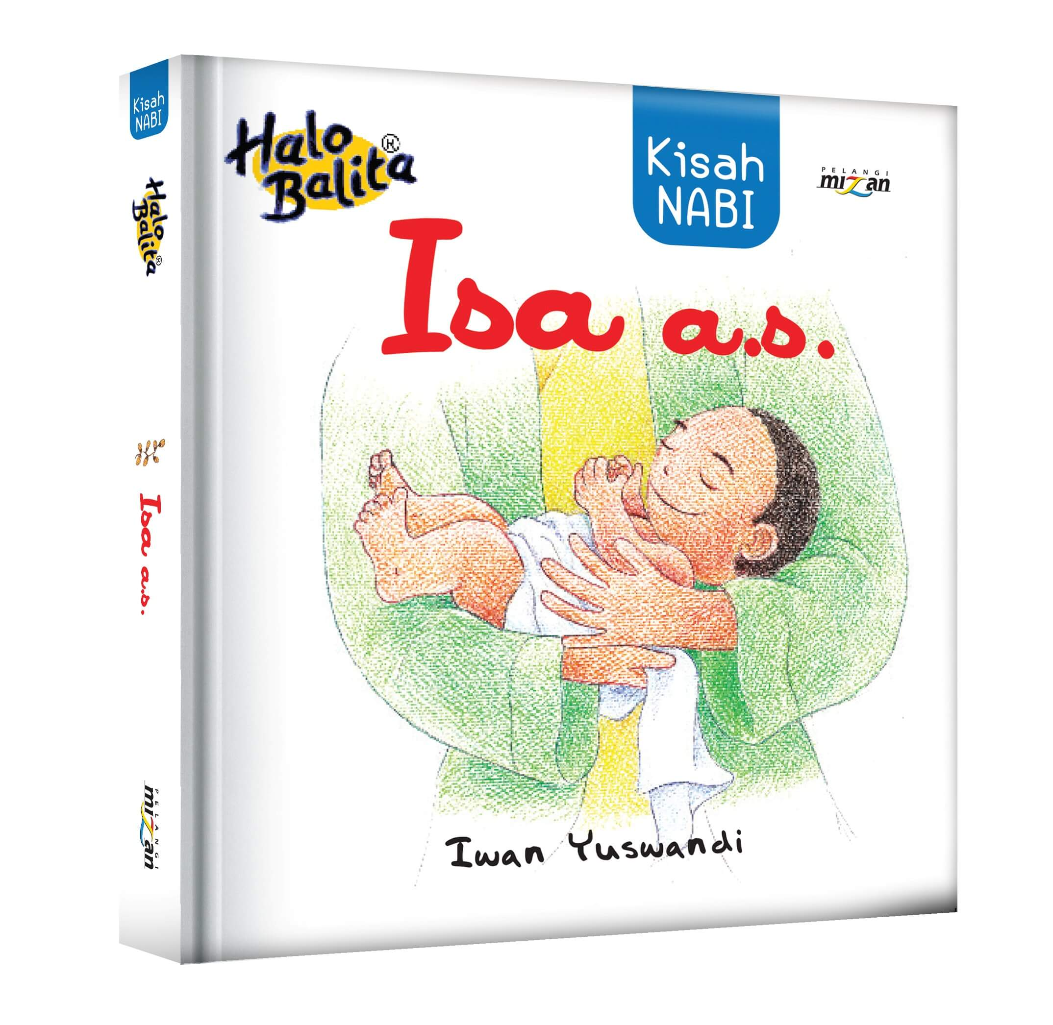 HALO BALITA: KISAH NABI ISA A.S. (BOARDBOOK)-NEW