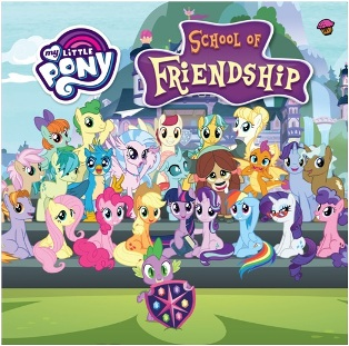 MY LITTLE PONY: SCHOOL OF FRIENDSHIP (BOARDBOOK)