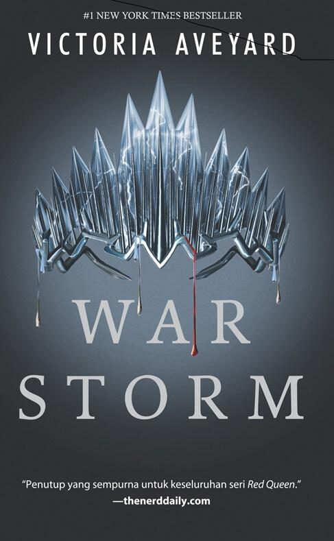 RED QUEEN #4: WAR STORM