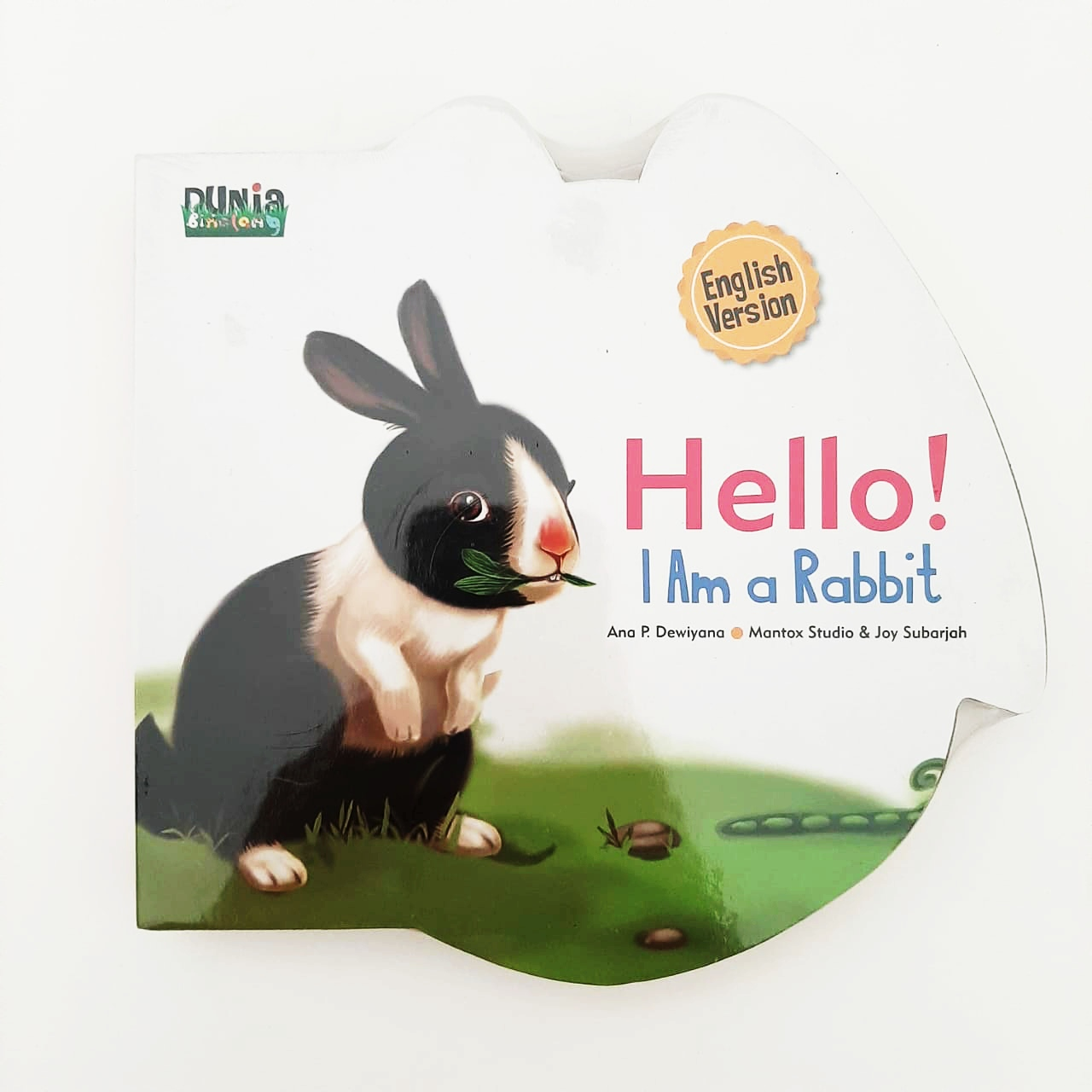 BBW: SERI DUNIA BINATANG.HELLO! I AM A RABBIT.ENGLISH VERSION (BOARDBOOK)