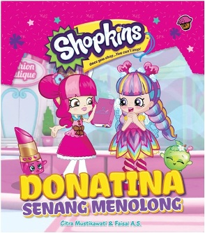 SHOPKINS SHOPPIES: DONATINA SENANG MENOLONG-SC