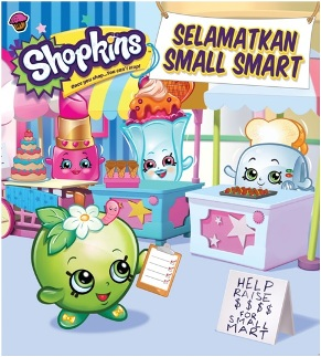 SHOPKINS SHOPPIES: SELAMATKAN SMALL SMART-SC
