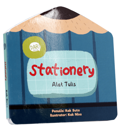 BBW : STATIONERY - ALAT TULIS  (BOARDBOOK)