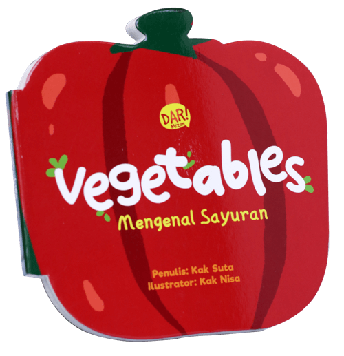 BBW : VEGETABLES - MENGENAL SAYURAN  (BOARDBOOK)