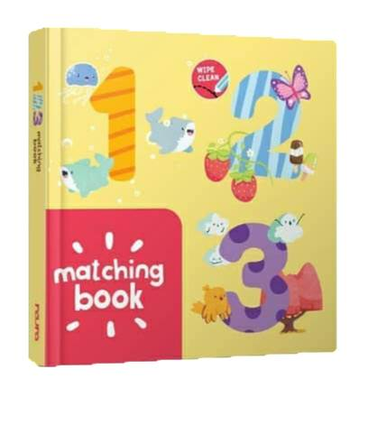 WIPE AND CLEAN : MATCHING BOOK 123