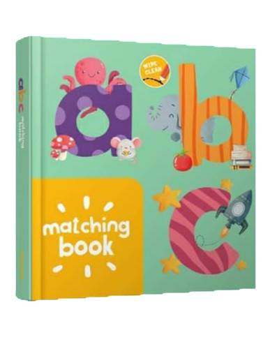 WIPE AND CLEAN : MATCHING BOOK ABC